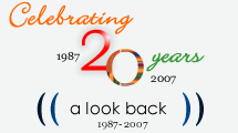Celebrating 20 years. A look back.